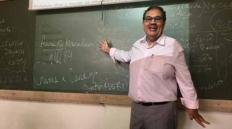 'Sem meus alunos, eu não seria feliz'