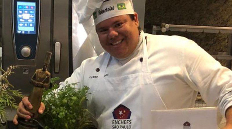 Chef Tclei quer representar o Estado de São Paulo em concurso nacional