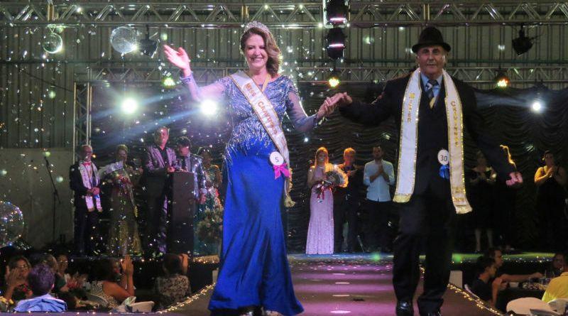Estela Pelegrini e Alcides Capatti são os vencedores do Miss e Mister Melhor Idade
