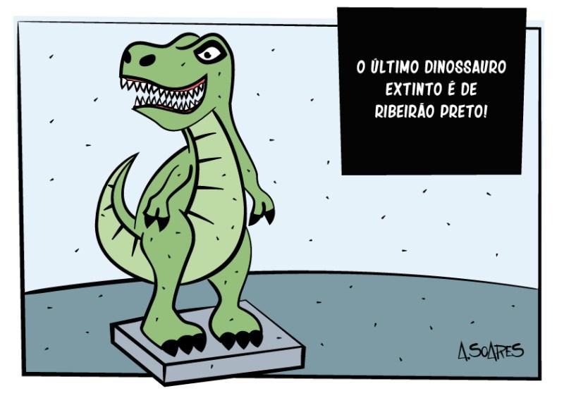 dinossauro ribeirão preto