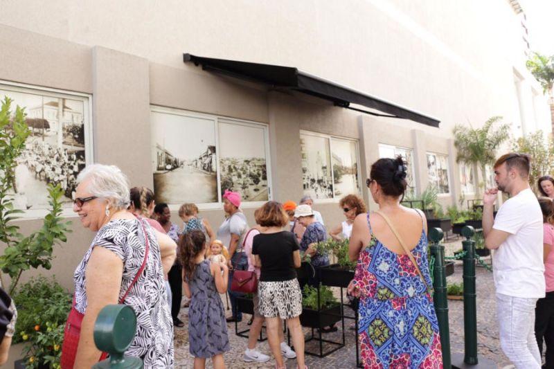 Shopping Santa Úrsula inaugura Horta Comunitária