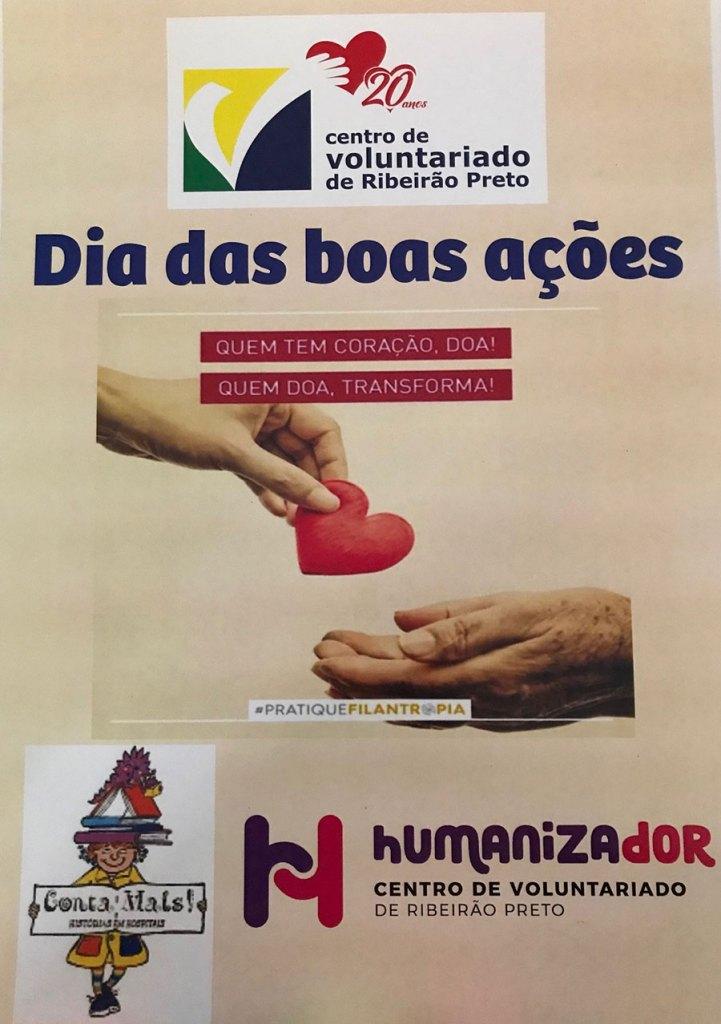 CVRP celebra o Dia das Boas Ações com diversas atividades