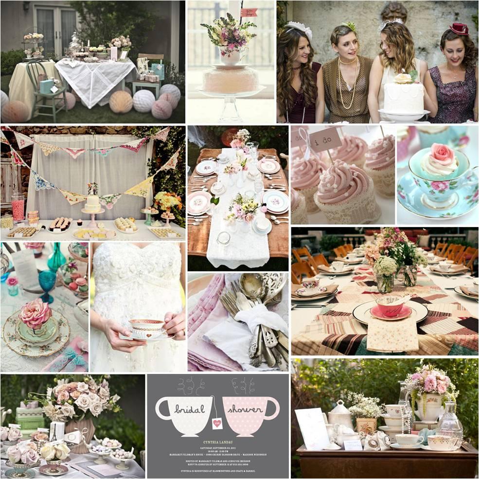 Pretty Parties: Tea Party Bridal Shower