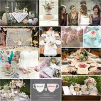 Pretty Parties: Tea Party Bridal Shower