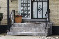 Tile on steps and small porch | interunet
