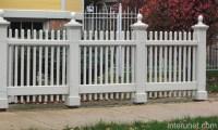 White wood decorative fence picture | interunet