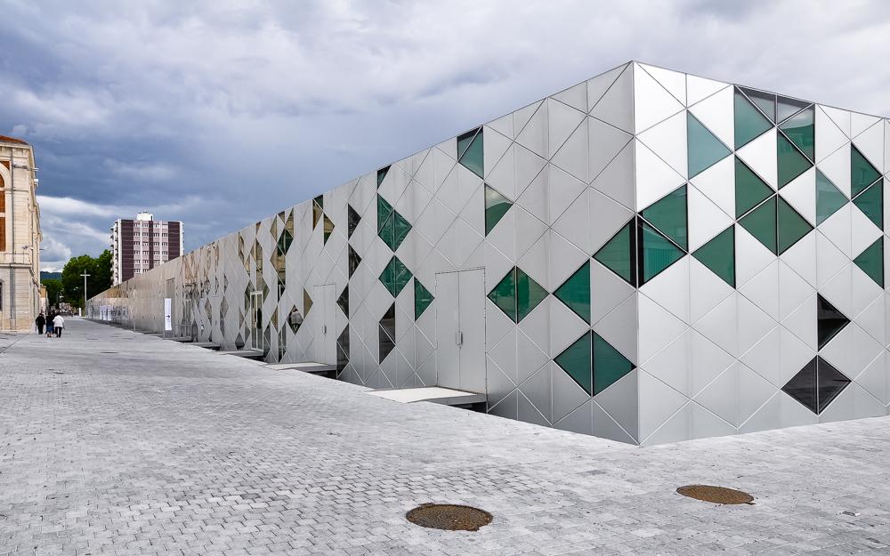 photographe d'architecture ©INTERVALphoto : Lin, Fin Geipel, Giulia Andi, la cité du design, St Etienne