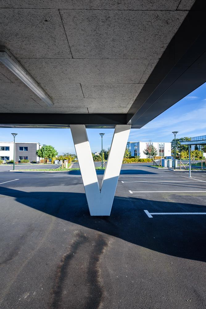 photographe d'architecture ©INTERVALphoto : Performance Promotion, Bâtiments 1,2,3,4,5,6,7,8,9, La Fleuriaye, Carquefou.