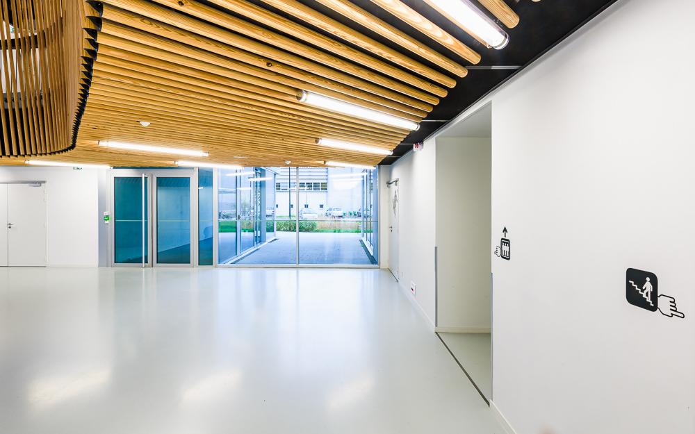 photographe d'architecture ©INTERVALphoto : Tétrac, Hub Créatic, Nantes