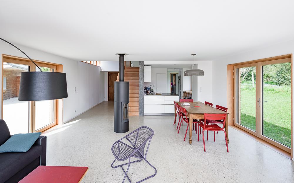 photographe d'architecture ©INTERVALphoto : GRIGNOU & STEPHAN architectes, maison de vacances Combrit (29)