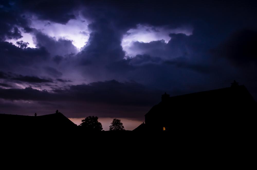 orage nocturne, Cévennes ©quideaufrancois