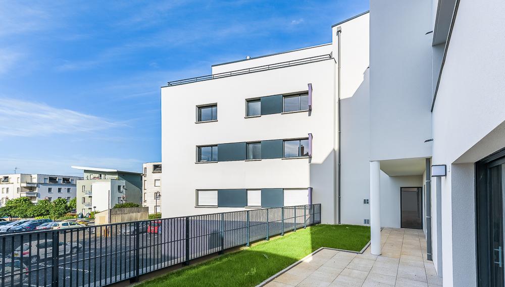 photographe d'architecture ©INTERVALphoto : O+P architectes, logements Chartres de Bretagne, 35