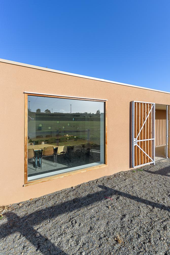 LAB architectes, vestiaires, Irvillac, 29