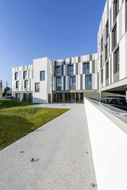 PAUMIER Architecte, Hôtel Certification PASSIVHAUS, Le Havre (76)