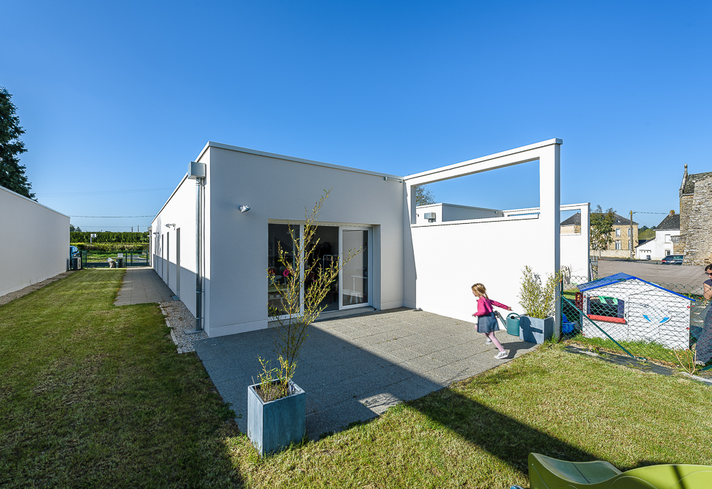 cf.architecture, logements sociaux, Montjean, 35.
