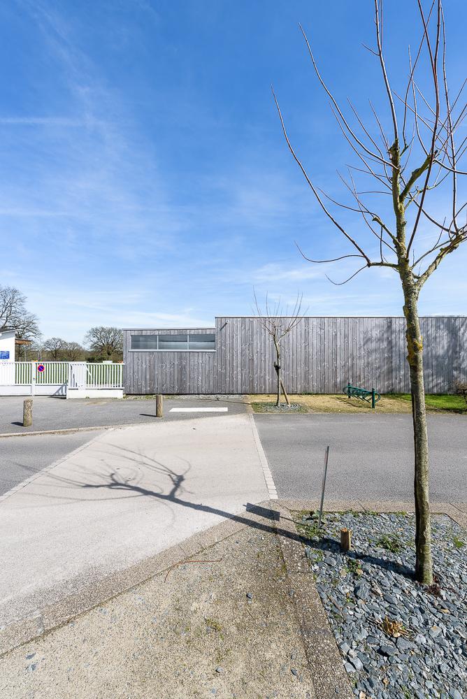 cf.architecture, vestiaires, Bourgneuf la Forêt(53)
