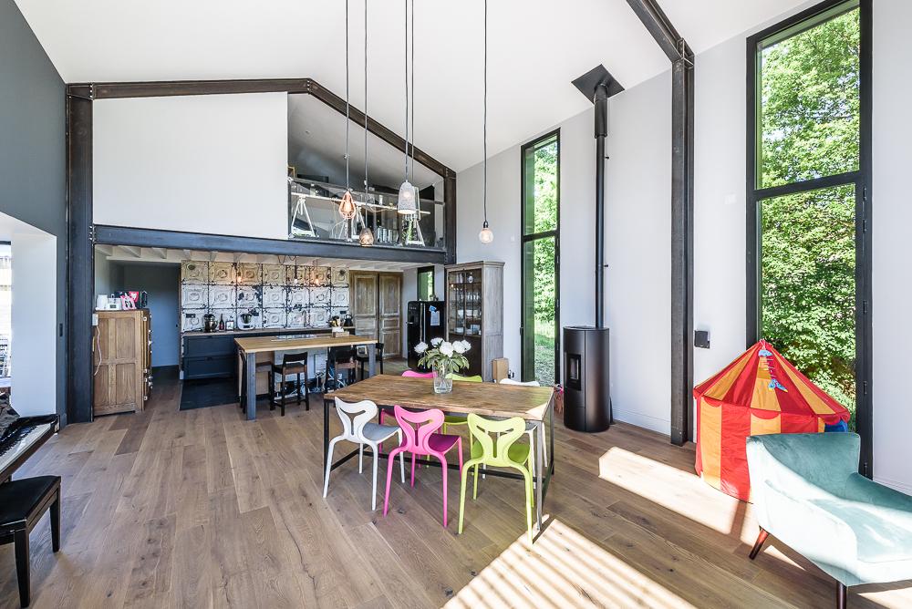 photographe d'architecture ©INTERVALphoto : Tanguy Mickaël architecte, maison individuelle, Domloup (35)