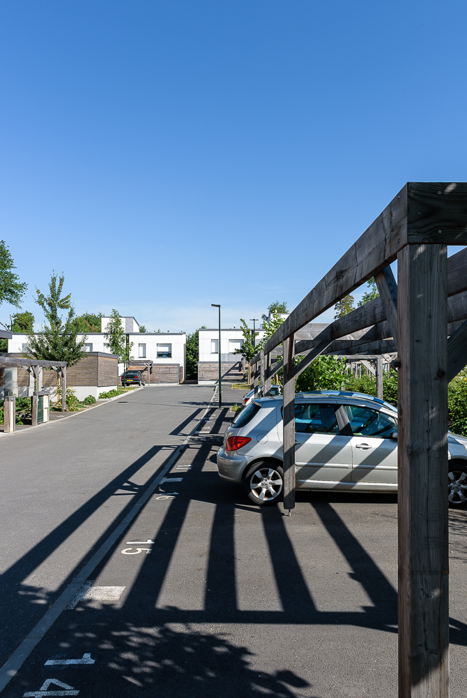 photographe d'architecture ©INTERVALphoto : Paul Bouet Architecte, logements collectifs et maisons groupées, Le Rheu, 35