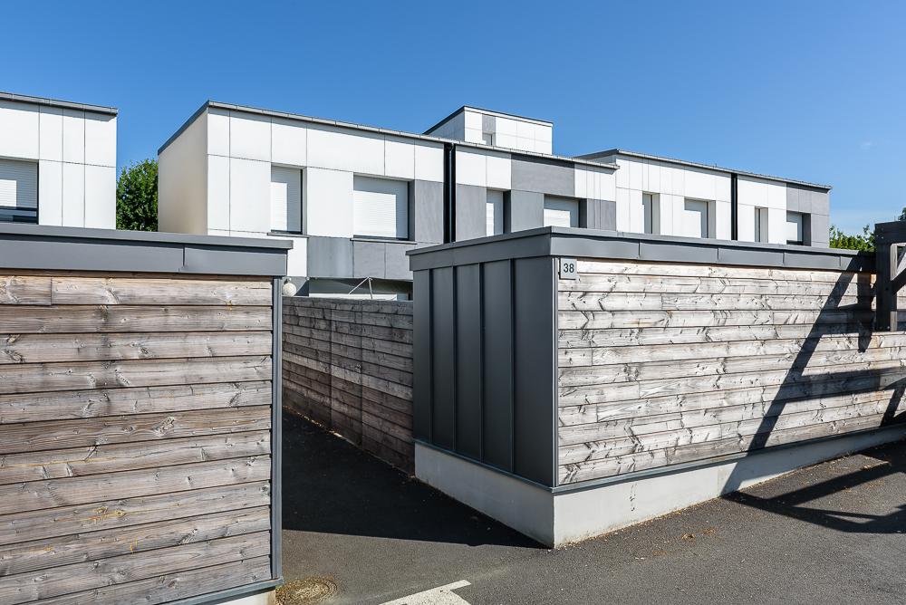Paul Bouet Architecte, logements collectifs et maisons groupées, Le Rheu, 35.
