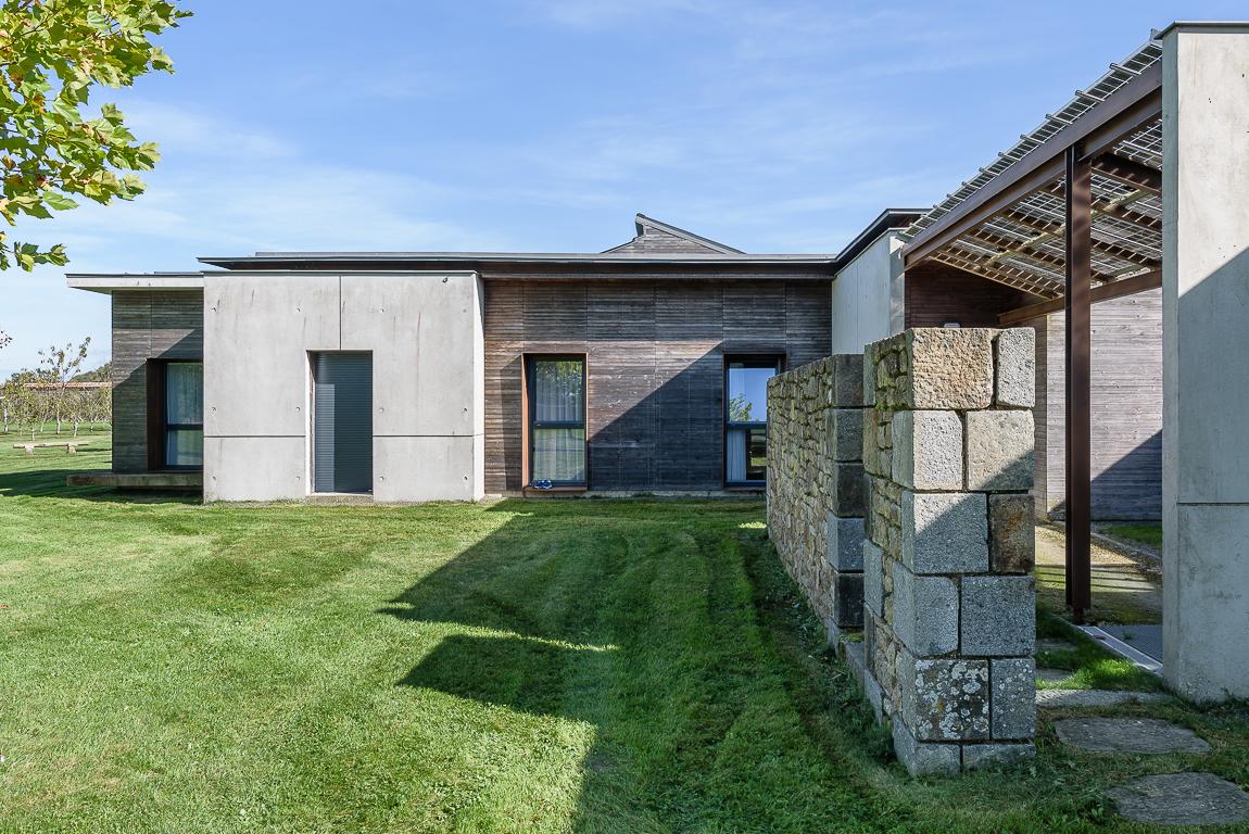 photographe d'architecture ©INTERVALphoto : Bouet Paul architecte, Maison Charles de Foucauld, St Pern (35)