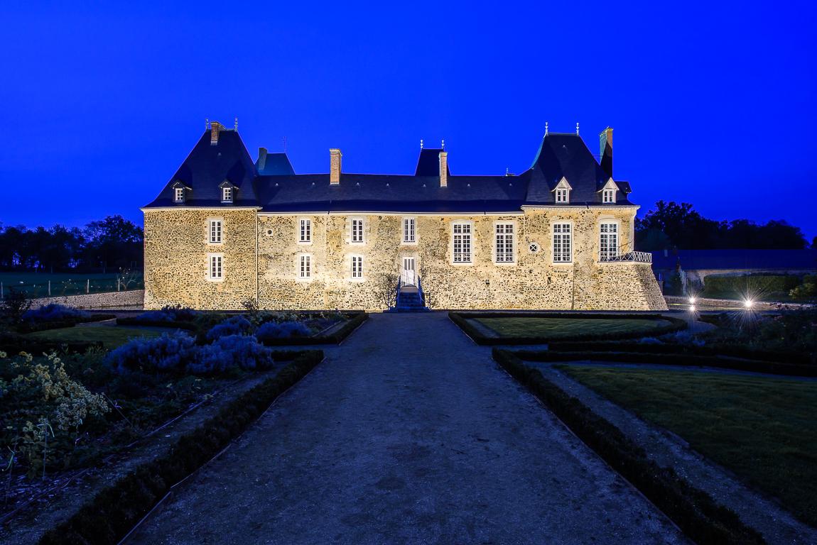 photographe d'architecture ©INTERVALphoto : THORN, ZUMTOBEL LUMIERE, Château des Arcis, Meslay-du-Maine (53)