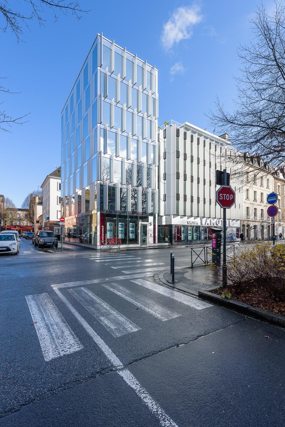 photographe d'architecture ©INTERVALphoto : Bourdet-Rivasseau,Philippe Lamotte Architectes, Rennes (35)
