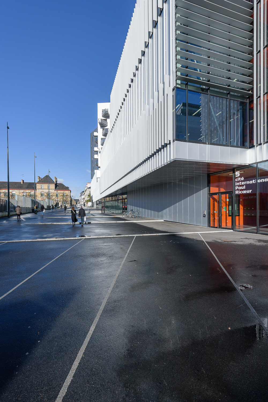 photographe d'architecture ©INTERVALphoto : Hérault Arnod architectes, Cité Internationale Paul Ricœur, Rennes (35)