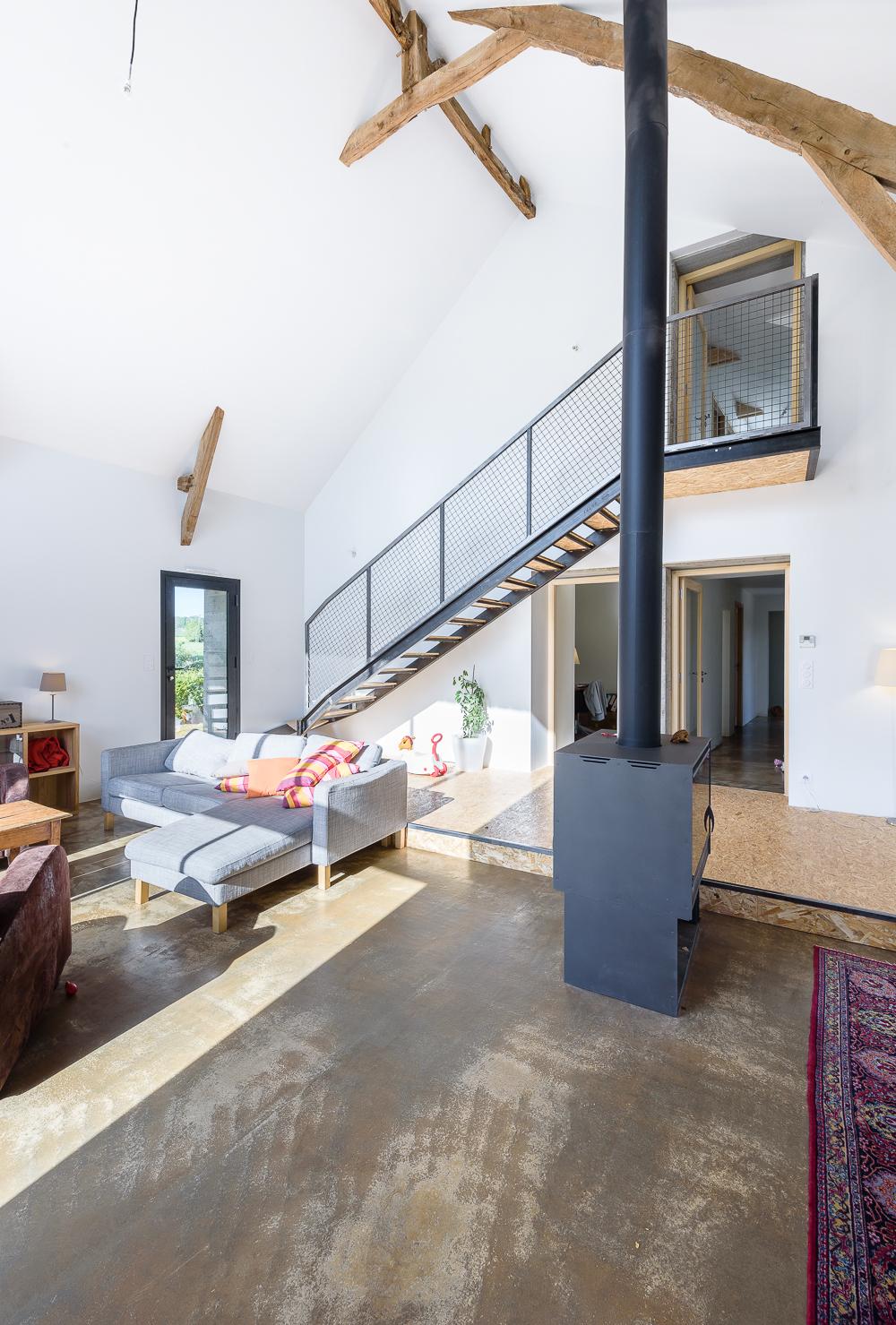 photographe d'architecture ©INTERVALphoto : TANGUY Mickaël Architecte, réhabilitation maison, visites