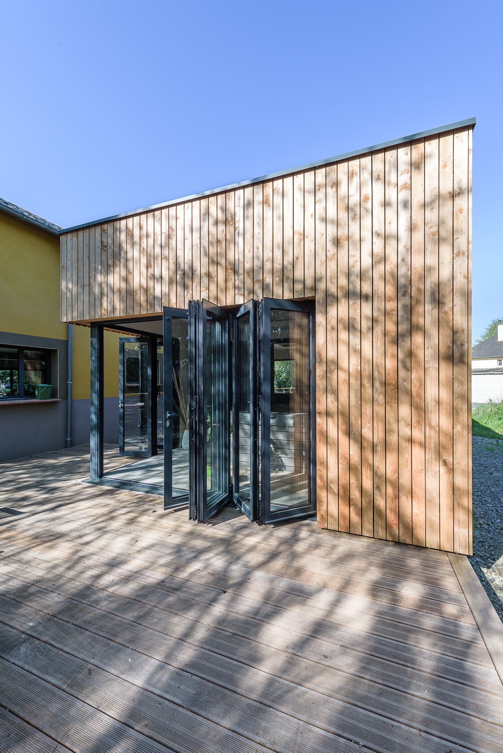 photographe d'architecture ©INTERVALphoto : Briand & Renault Architectes, extension, maison individuelle, Betton(35)