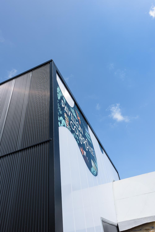 photographe d'architecture ©INTERVALphoto : Atelier L2, WAR, Hall GP9, Maison du Projet, La Courrouze, Rennes(35)