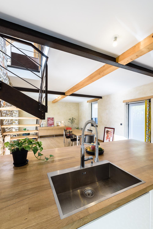 photographe d'architecture ©INTERVALphoto : TANGUY Mickaël, Réhabilitation maison individuelle, Rennes (35)
