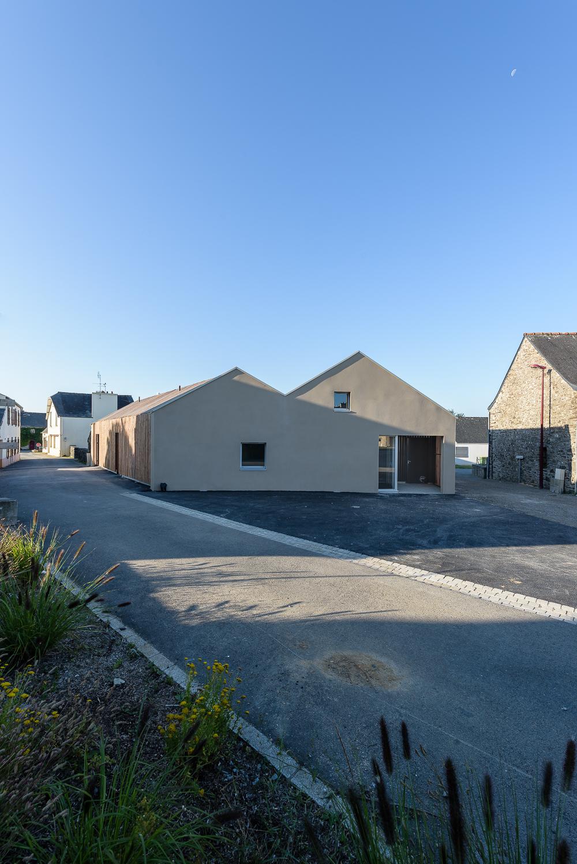 photographe d'architecture ©INTERVALphoto : LAB architectes, Maison Médicale, 1/2, Hanvec (29)