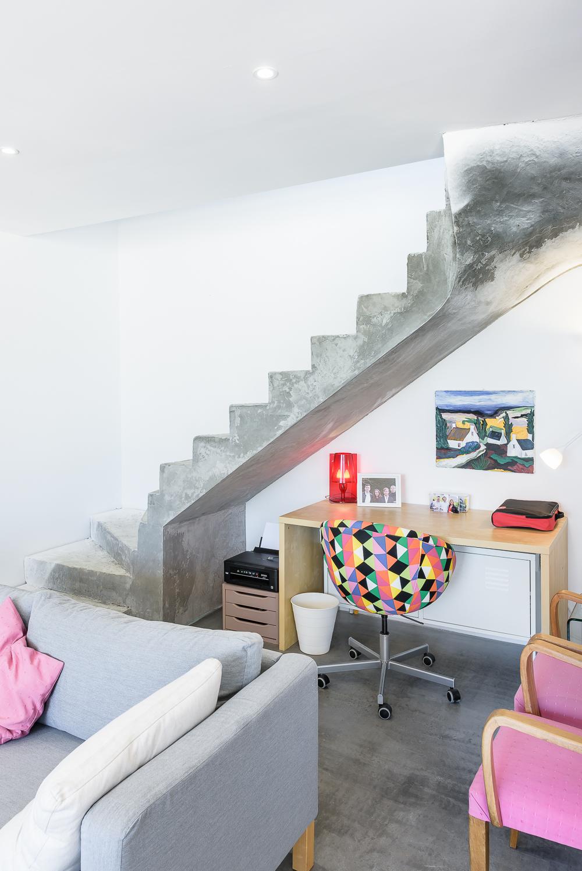 photographe d'architecture ©INTERVALphoto : ROCHER T. architecte, maison individuelle, St Erblon(35)
