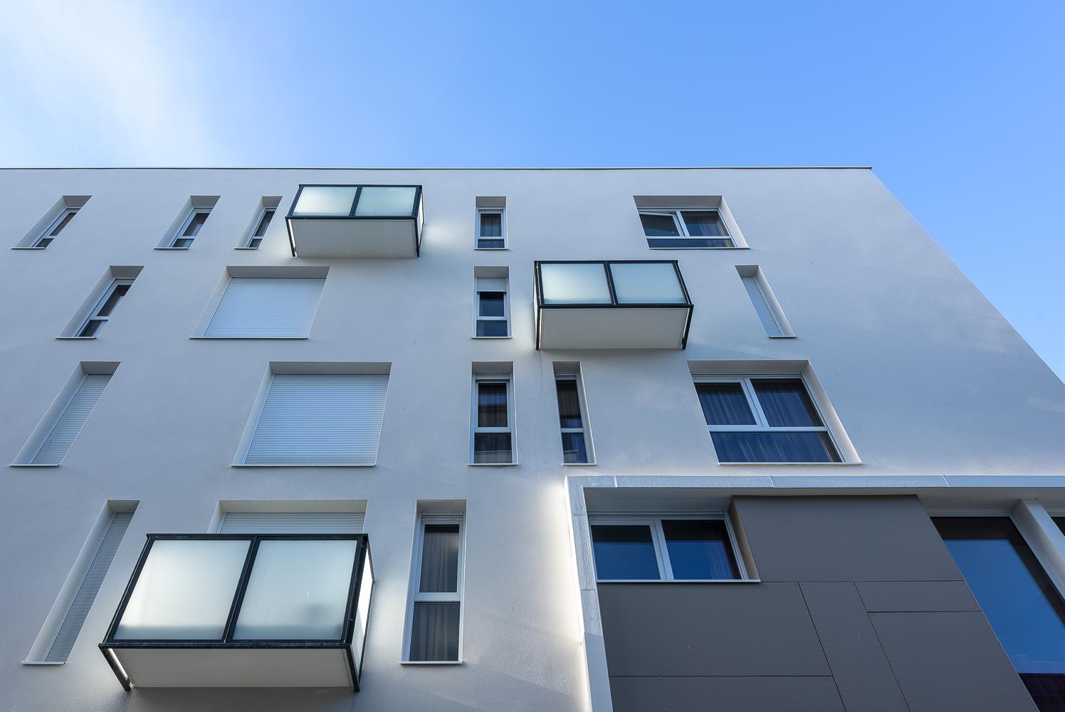 BNR architecture, Peroba, résidence étudiante, le Mil'on, Rennes, 35