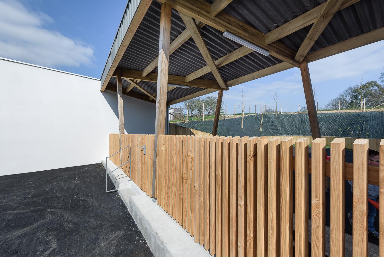 photographe d'architecture ©INTERVALphoto : CF Architecture, pôle enfance, Bourgneuf la Forêt(35)