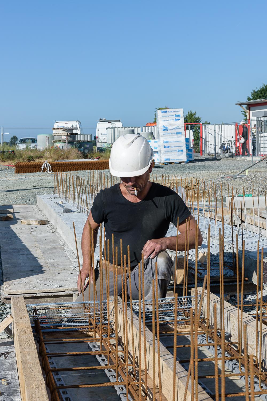 photographe d'architecture ©INTERVALphoto : Lycée Polyvalent, Région Pays de Loire, AIA architecte, Chantier, Nort sur Erdre (44) 8/22