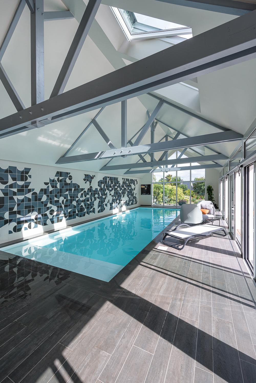 Couasnon Launay architectes, maison individuelle, extension,  piscine, Dol de Bretagne (35)