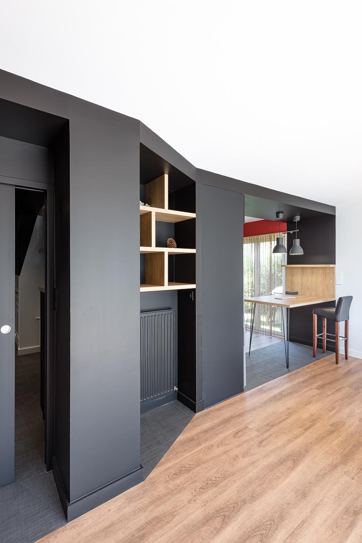 SAAC architecte, aménagements intérieurs, rénovation maison individuelle, Châteaugiron.
