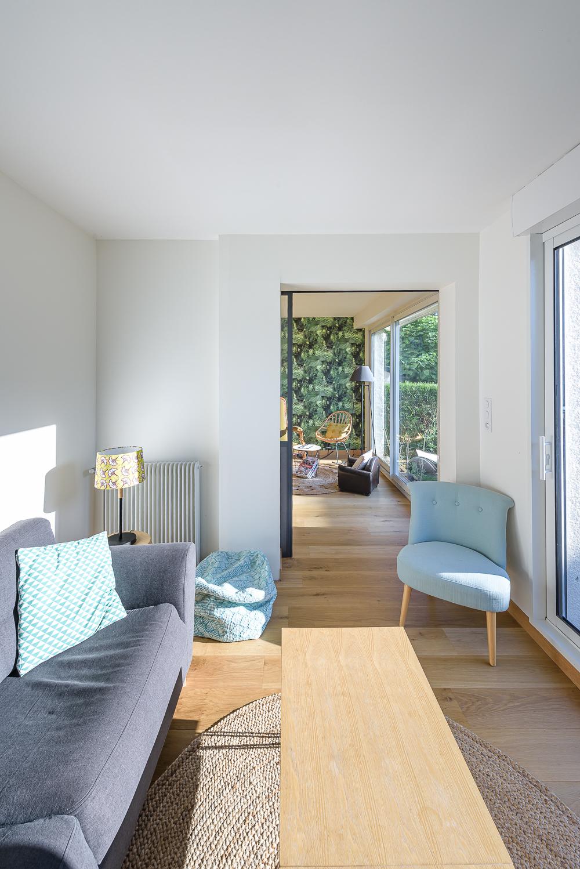 photographe d'architecture ©INTERVALphoto : SAAC architecte, aménagements intérieurs, rénovation maison individuelle, Rennes(35)