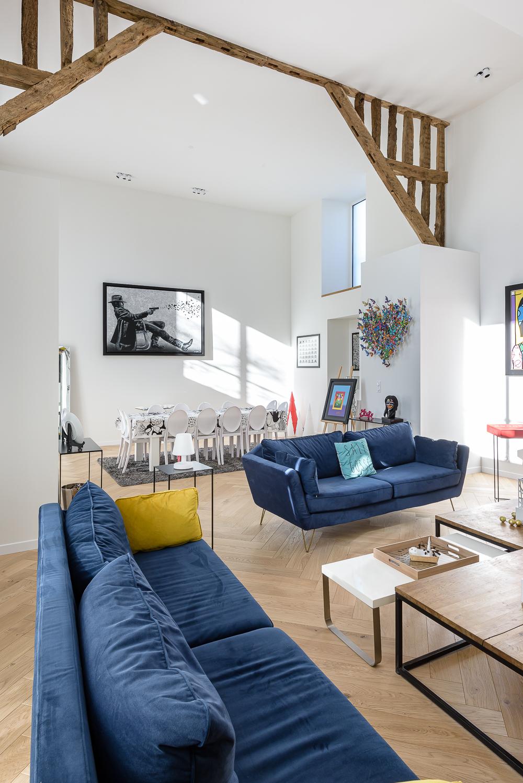 photographe d'architecture ©INTERVALphoto : LEFORT Claire, Architecte, rénovation maison individuelle, Rennes (35)