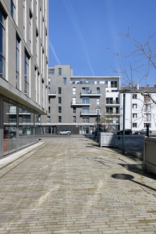 Agence L2A, logements, Bv de Clémenceau, Rennes