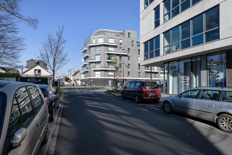 photographe d'architecture ©INTERVALphoto : Agence L²A, logements, Bv Clémenceau, Rennes (35)