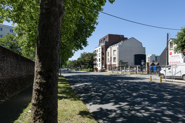 photographe d'architecture ©INTERVALphoto : Agence L2A, logements, Maurepas, Rennes (35)