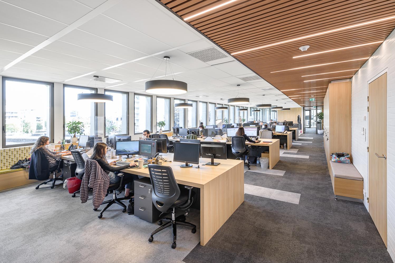 photographe d'architecture ©INTERVALphoto : O+P, aménagements plateau de bureaux, Le Mabilay, Rennes (35)
