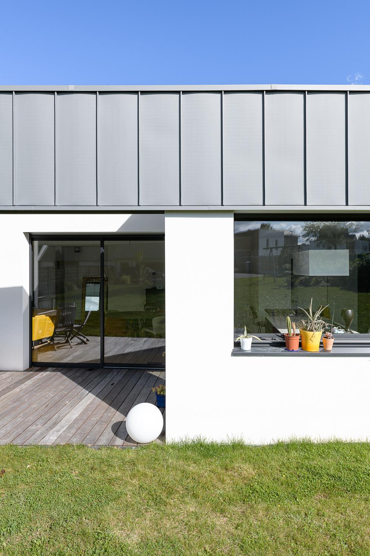 photographe d'architecture ©INTERVALphoto : ROCHER T. Architecte, maison individuelle, Saint Erblon (35)