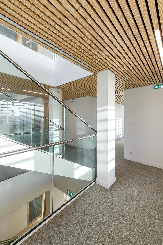 photographe d'architecture ©INTERVALphoto : Reportage Maison et Travaux, rénovation maison individuelle, Bouguenais (44)