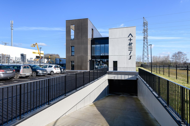 photographe d'architecture ©INTERVALphoto : L2A Architectes, immeuble tertiaire,Saint Grégoire (35)
