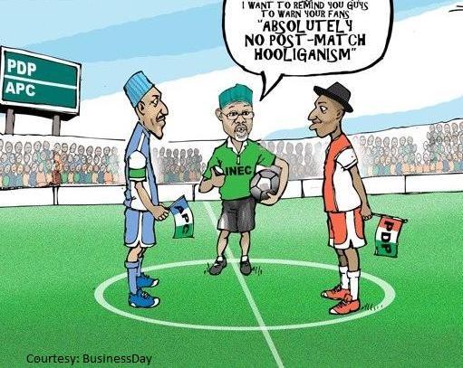 The Buhari - GEJ Text