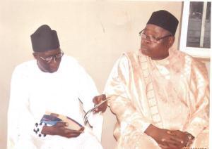 (L-R) Hon. Gody Ikerave & Chief Andrew Idakwo