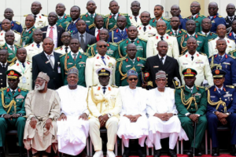 Some of Nigeria's current political and military elite